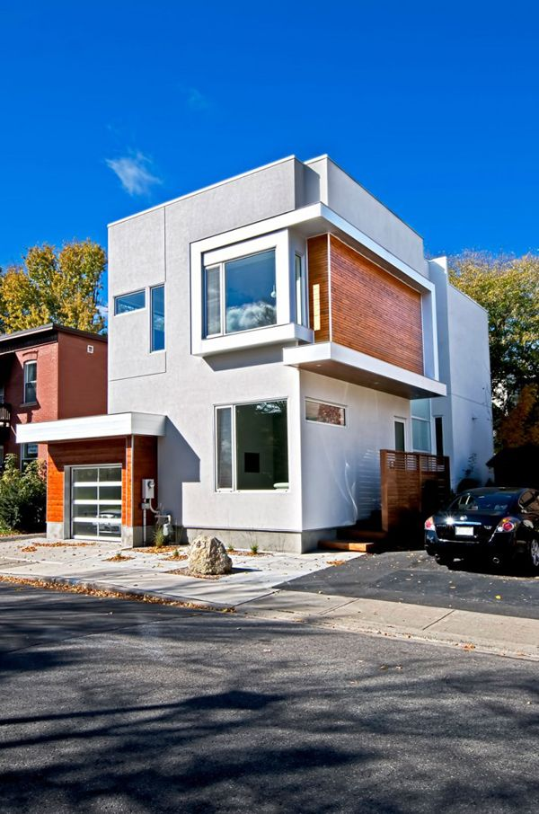 Modern Fold Place Residence in Ottawa by Linebox Studio
