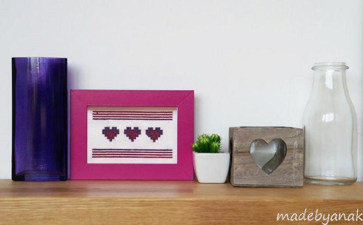Violet hearts/ Fioletowe serduszka