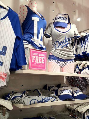 Dodgers Ladies Clothing @ Victoria's Secret