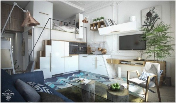 St. Petersburg apartment / visualizer: Max Zhukov