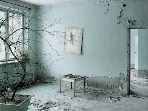 Tchernobyl 5, Waiting Room, Prypiat, Ukraine