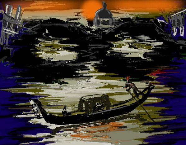 Live digital painting. #VinceMancusoArt