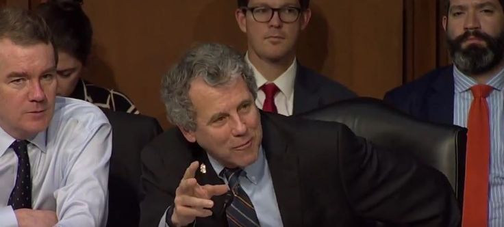 Watch The Incredible Moment When Orrin Hatch Loses It After Sherrod Brown Exposes The Tax Cuts For The Rich