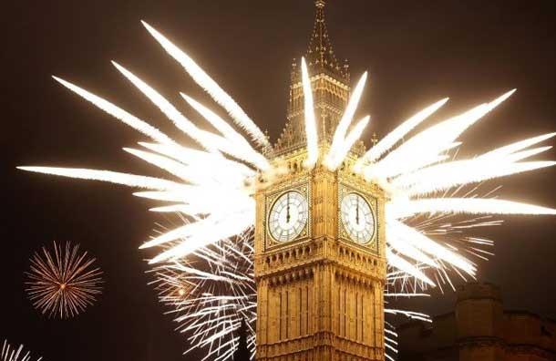 Big Ben, New Years Eve 2012, London