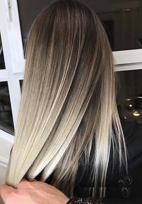 Trend ideas from Balayage hair colors and highlights for women to sports in 201 … #balayage # ladies #hair #highlights #sport