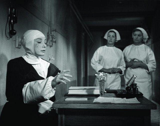Still of Audrey Hepburn in The Nun's Story