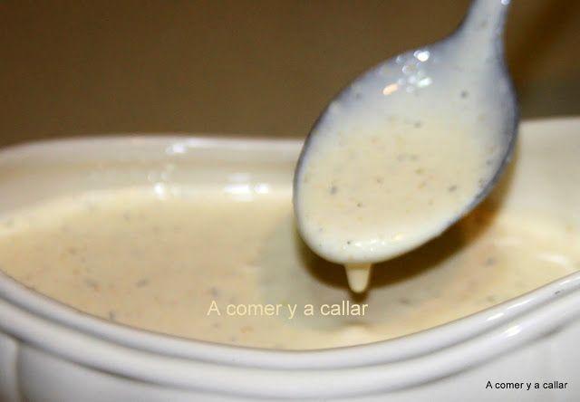A comer y a callar: SALSA RANCH-SALSA RANCHERA BLANCA