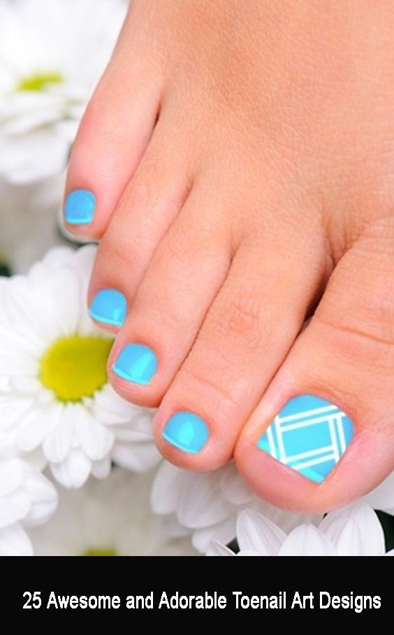 Nail artwork designs look fabulous and fascinating in photos, many people get intimated by it. Why? As a result of we consider that the execution of the designs is advanced and cannot be simply achieved. However, as you undergo the Toenail art designs below, you will notice how easy all of it actually is.