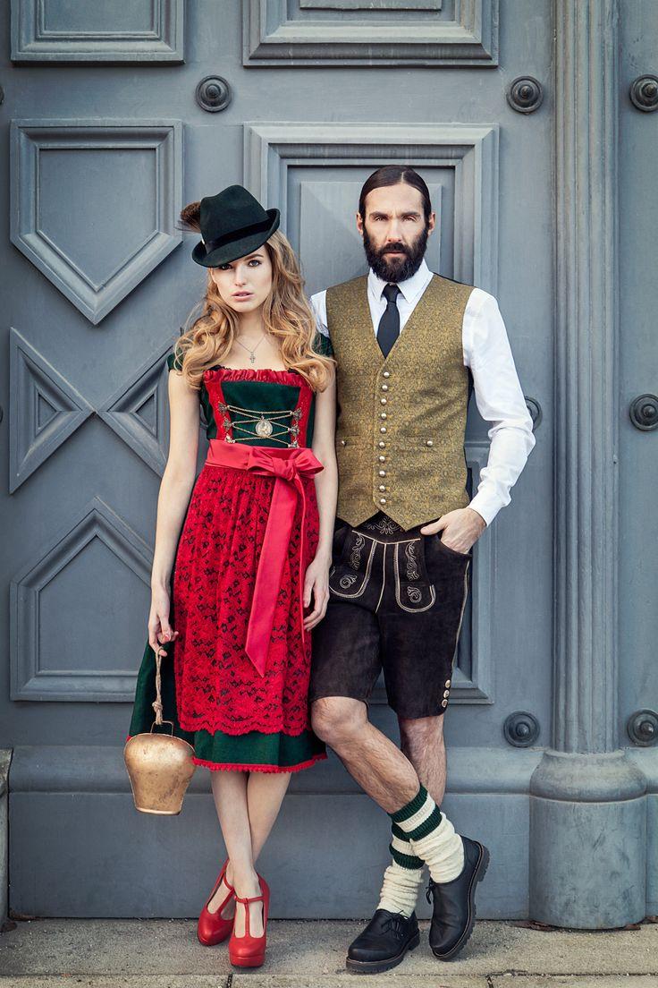 JAN&INA Designer Dirndl & Trachten Lookbook H/W2014