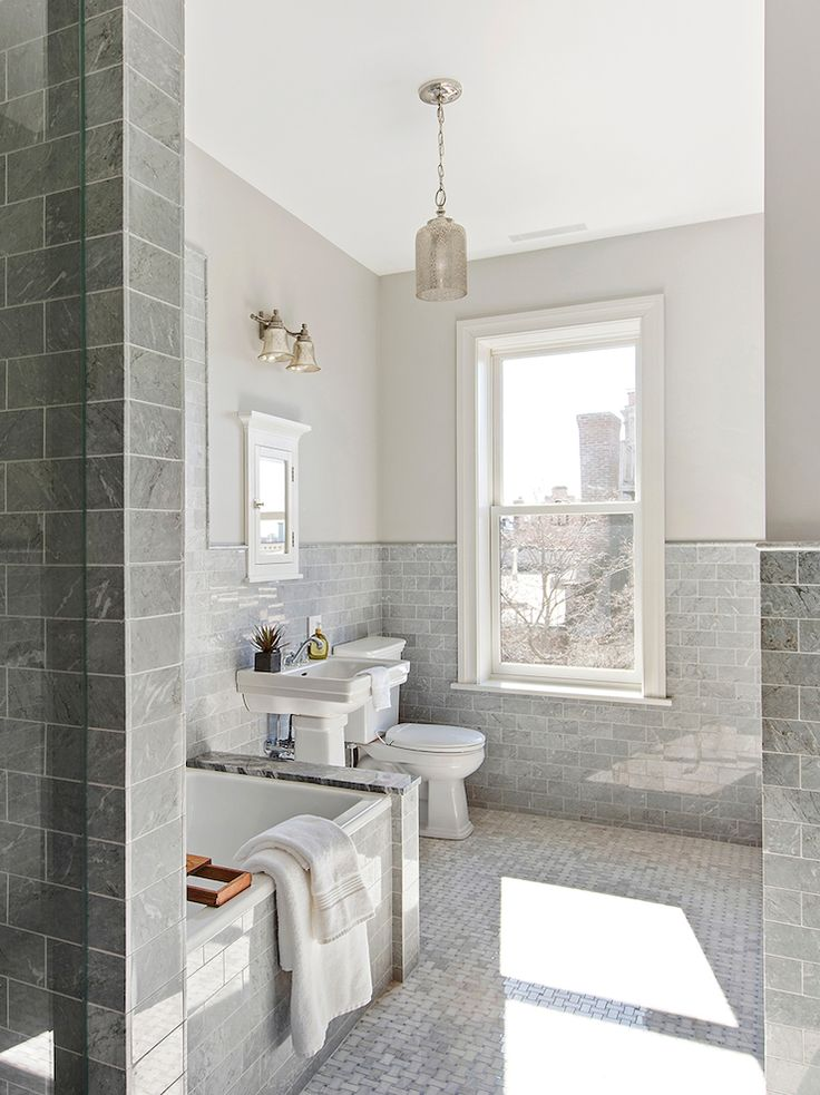 17 Best Ideas About Grey White Bathrooms On Pinterest