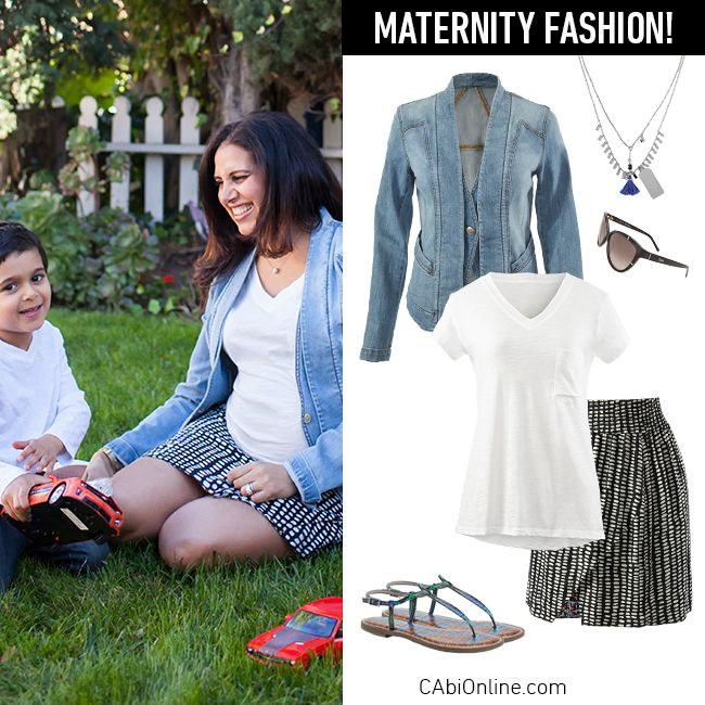 #CAbi - Play time with the kiddos in style. Check our maternity fashion with non-maternity clothes.