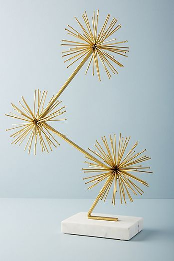 Burst Trifecta Decorative Object Decorating Coffee Tables