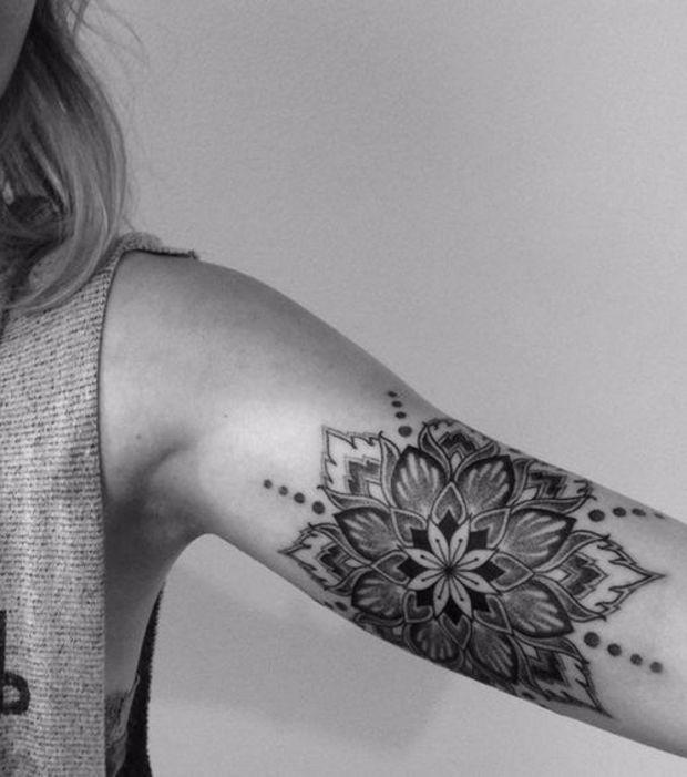 20 idées de tatouages façon Mandala pour exprimer sa spiritualité