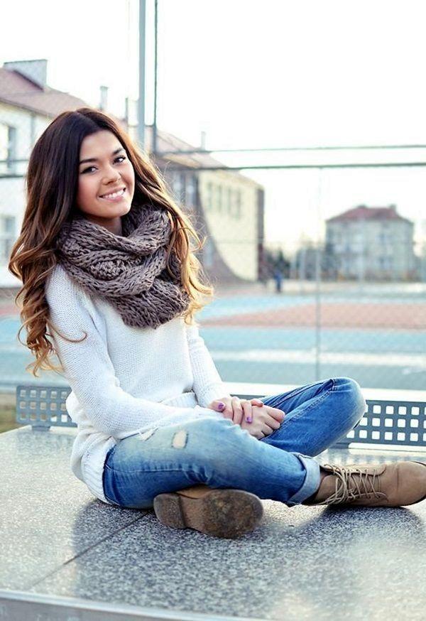 Fall fashion trends foto teenagers 2017