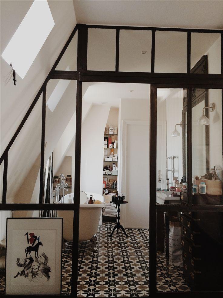 salle de bain bathroom baignoire nadine matthieu s. Black Bedroom Furniture Sets. Home Design Ideas