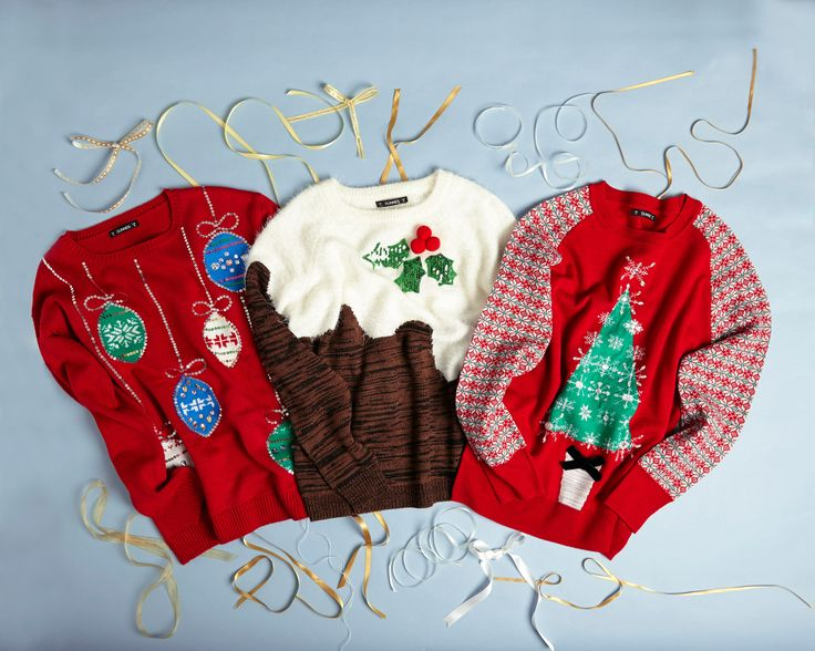 Make it merry with our fun and colourful Christmas jumpers