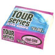 Sticky Bumps Tour Series Cold Water Surfboard Wax 6 Pack by Sticky Bumps. $7.20. Rub it on nose to tail, rail to rail. Sticky Bumps tour series formula from Wax Research, Inc. Globally right on non-toxic since 1972. Six 80 gram bars.