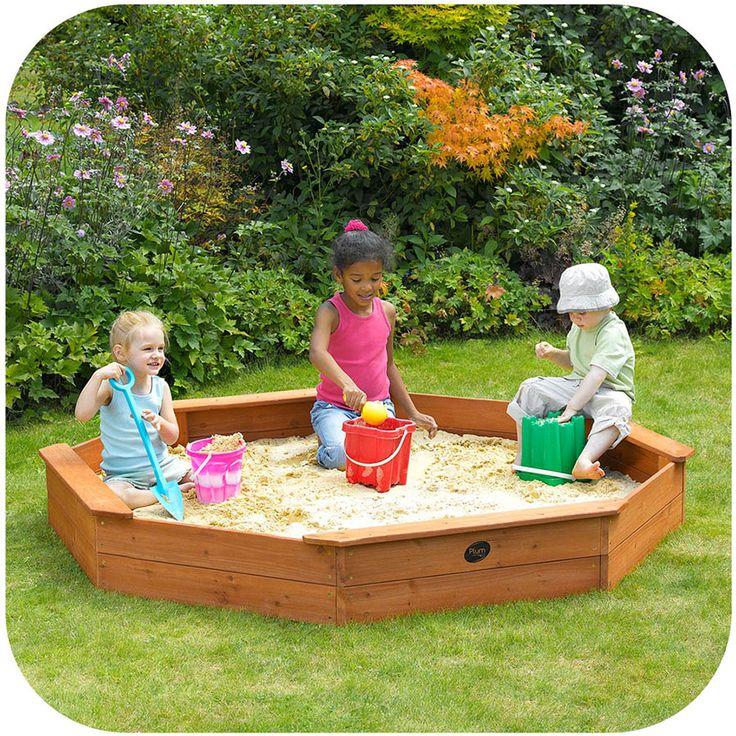 Plum Large Octagonal Sandpit | Toys R Us Babies R Us Australia
