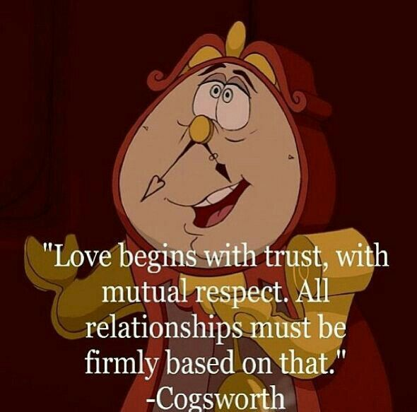 Sometimes Disney is just so wise