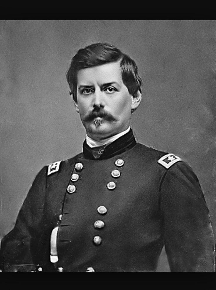 General George McClellan was a real hottie during the civil war. As a general of the union he won the battle of Antietam but was fired by Abraham Lincoln for being a coward. He wouldn't chase after the confederate army because he was a very cautious.