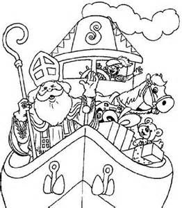 11 best kleurplaten sinterklaas images on