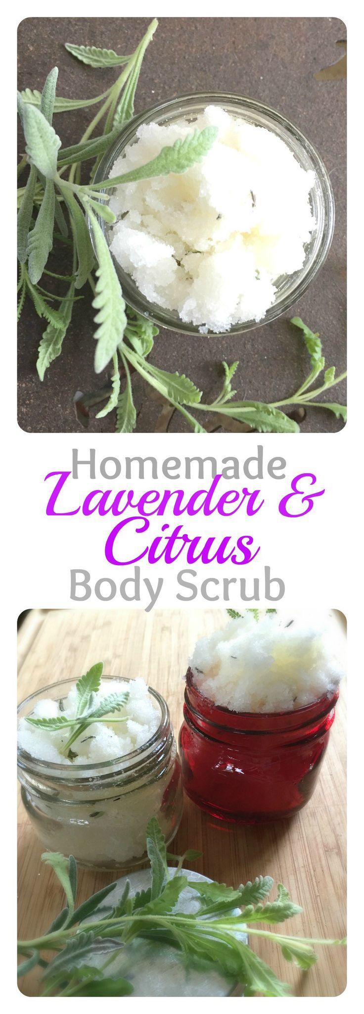 Lavender Citrus Body Scrub