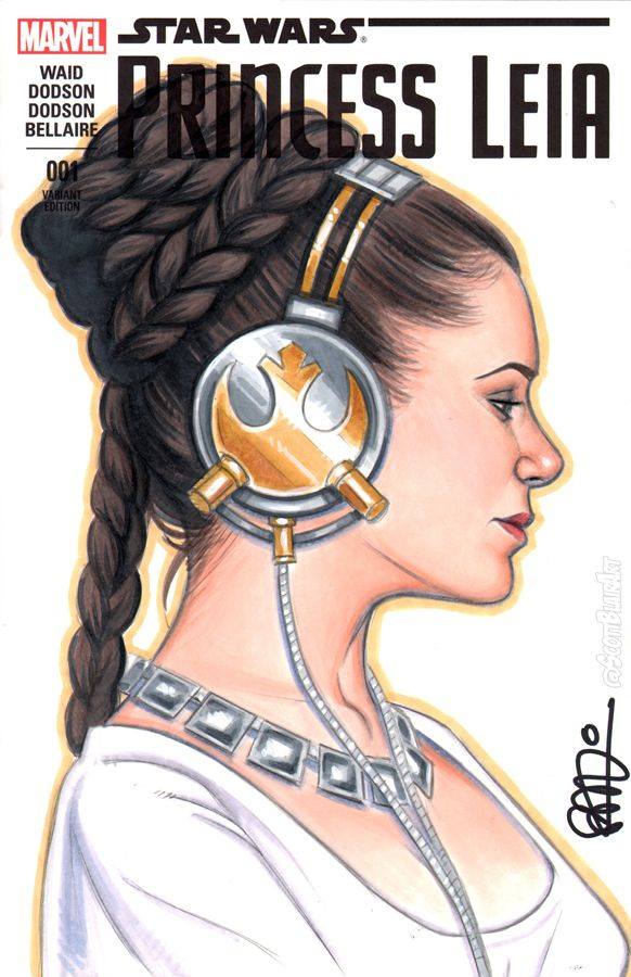 Princess Leia Ceremonial Beats by scottblairart.deviantart.com on @DeviantArt