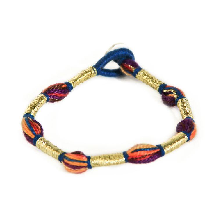 S jo Handmade single thread bracelet SS15