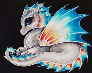 Ack! Sorry Dragon, this one is too femme to be you so it's me in Vixie Dragonette form!