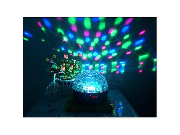auvisio Mobile Stereo Disco-Kugel inkl. 4 Akkus mit 2000 mAh auvisio Disco-Lichter Bild 9