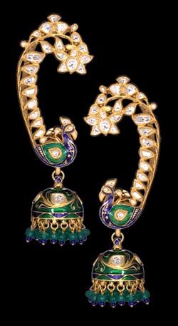 Earrings by Sunita Shekhawat Jaipur
