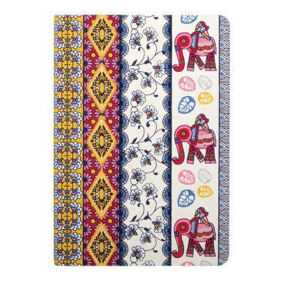 For S-- Amrita Sen Elephant With Multi Stripe Handmade Journal