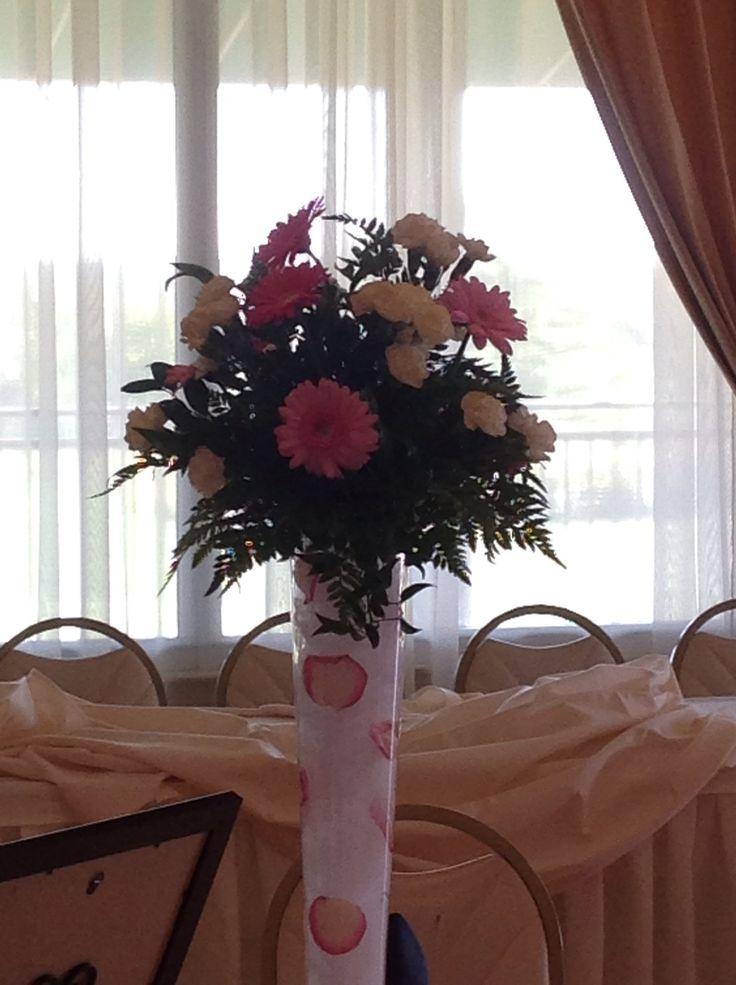 Tulle Flower Vase