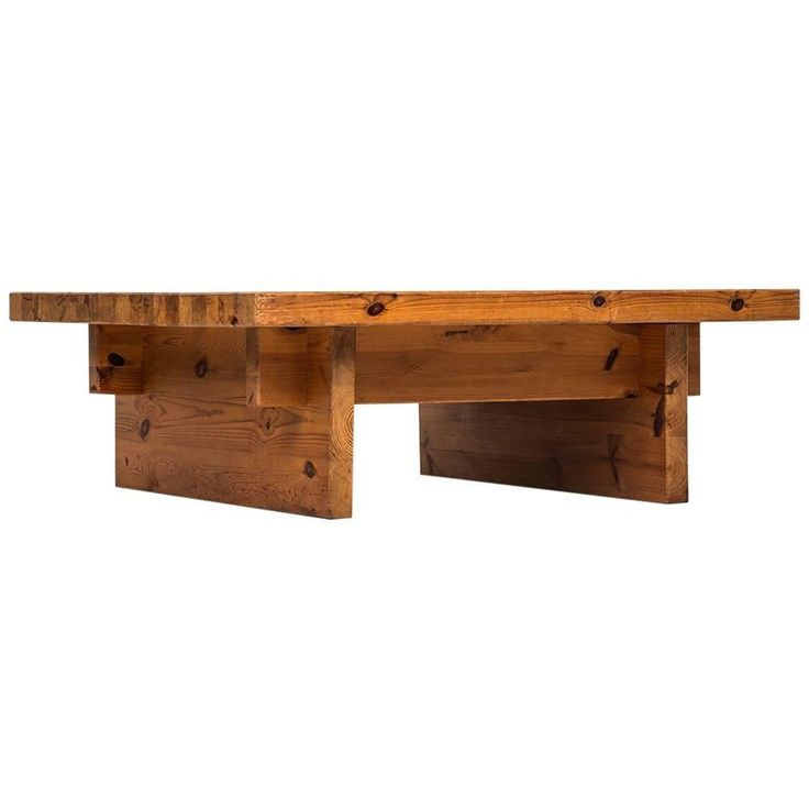 Roland Wilhelmsson Coffee Table in Pine by Karl Andersson & Söner in Swede