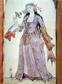 Woman in indoor dress - Dar Anahita