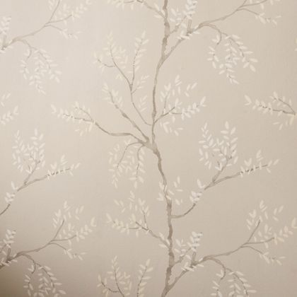 Laura Ashley Elwood Dove Grey Wallpaper at Homebase -- Be inspired and make your house a home. Buy now.