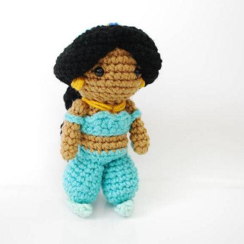 Jasmine - Crochet Amigurumi Plush Doll
