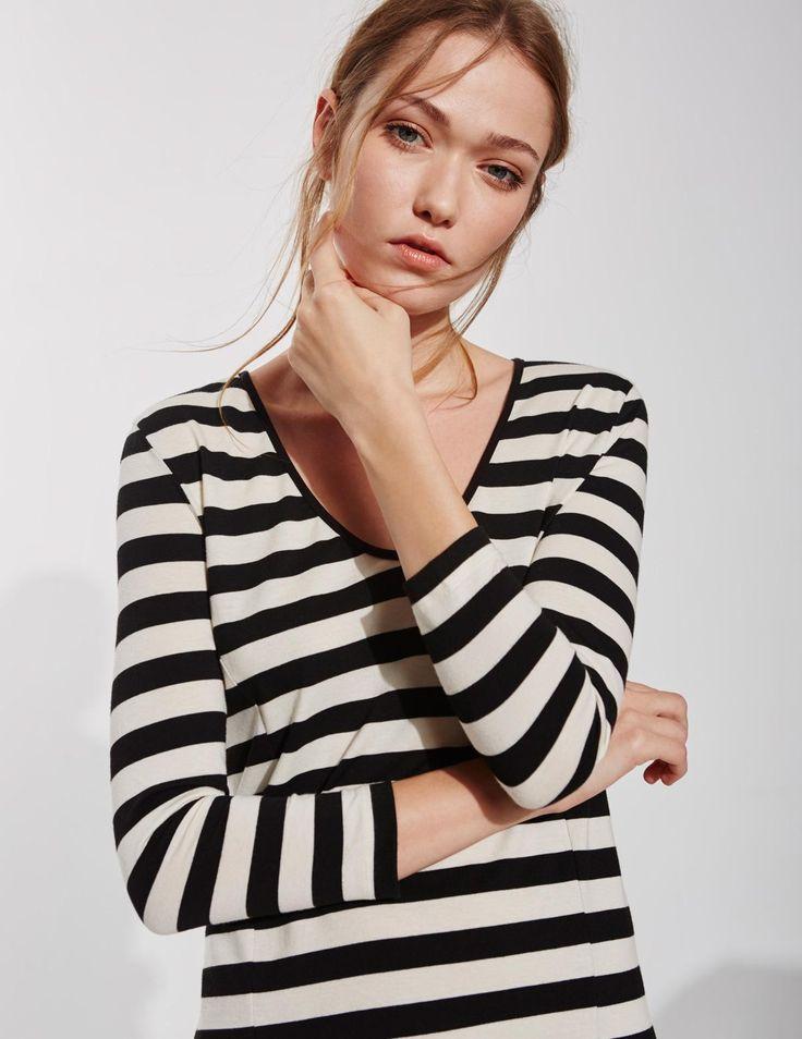 Yerse 3/4 Sleeve Dress