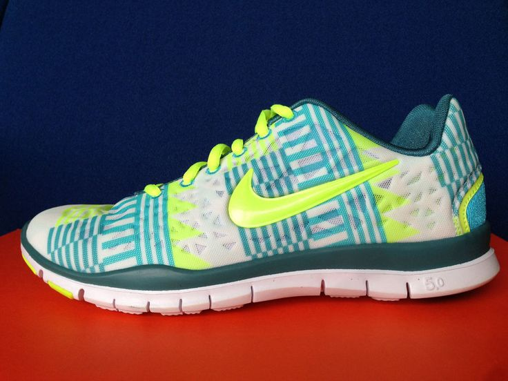 2403e67b4425 ... NIKE FREE TR FIT 3 PRINT TEAL AZTEC TRIBAL chevron animal roshe run 5.0  v4 sz Womens ...