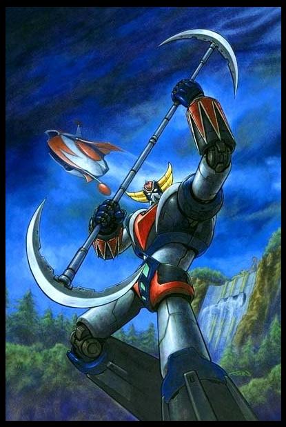 Go Nagai's GRENDIZER 001