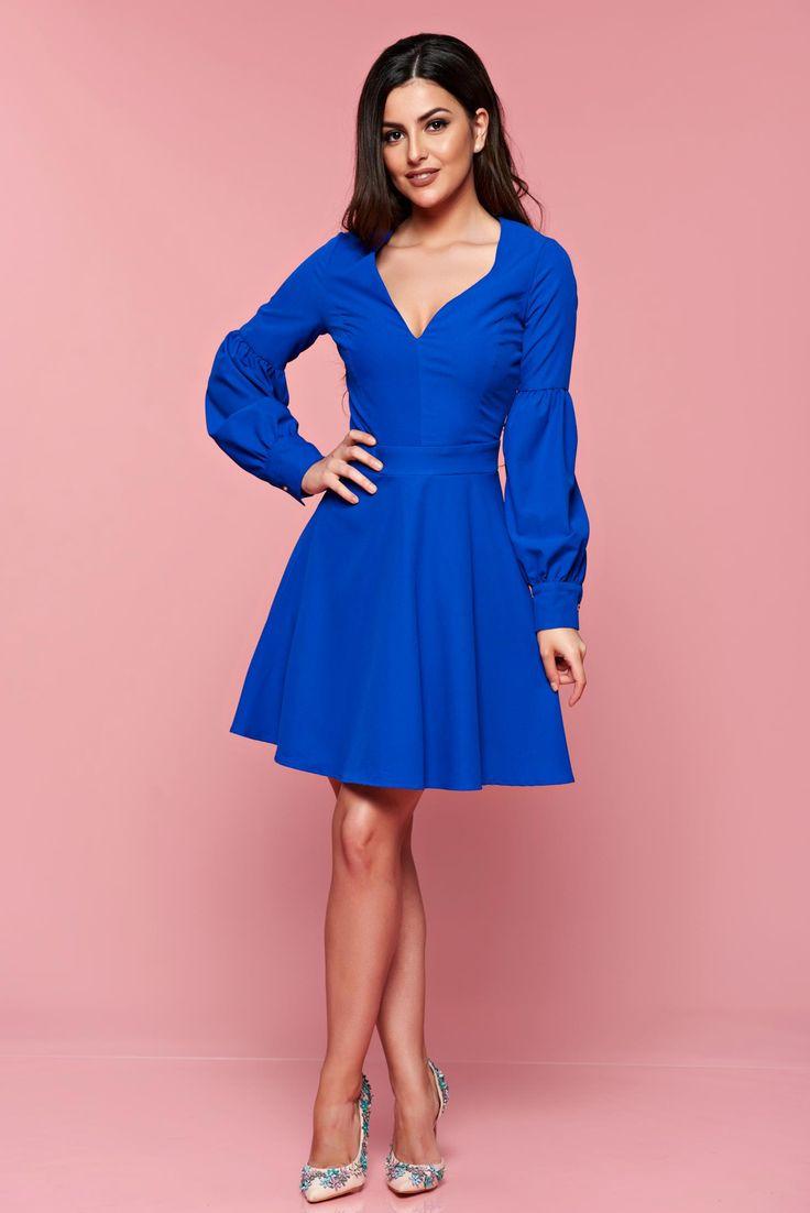 Comanda online, Rochie Artista Beautiful Spring Blue. Articole masurate, calitate garantata!