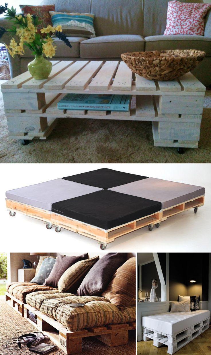 decora o criativa com paletes palettenm bel einrichtungsideen und selfmade. Black Bedroom Furniture Sets. Home Design Ideas