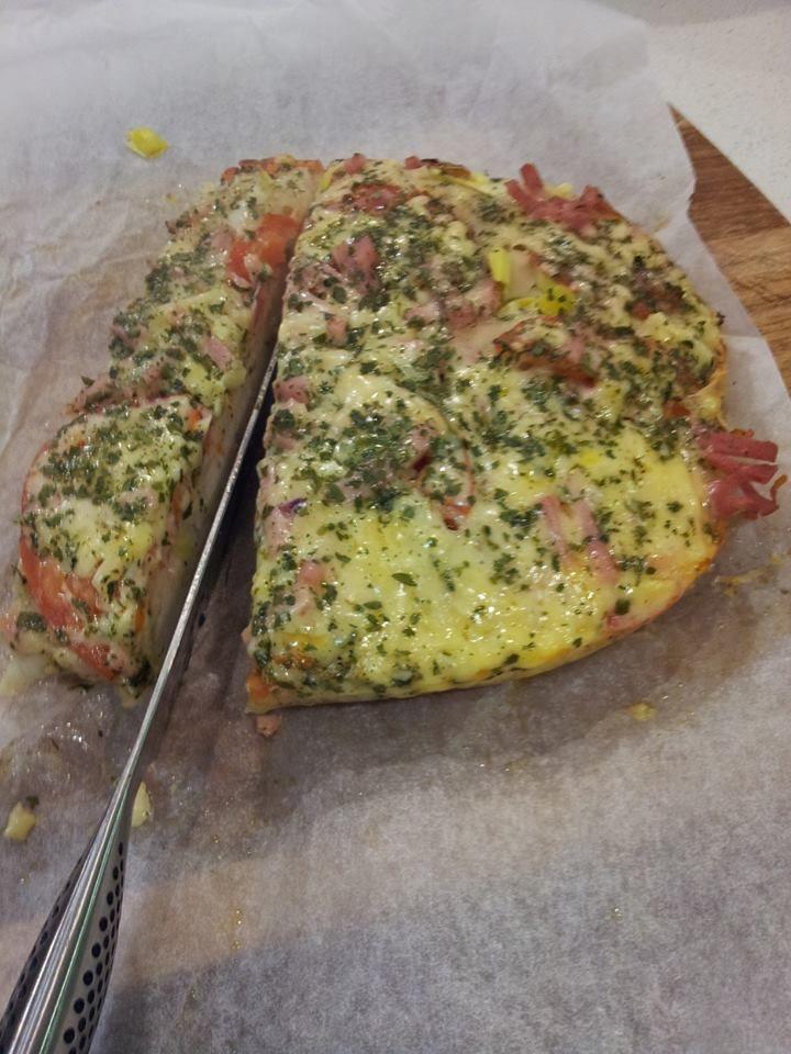 crock pot focaccia pizza
