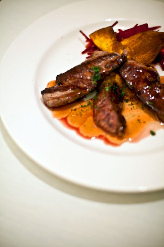 A trip to the Northern Territory would not be complete without tasting Kangaroo. A delicious plate of Roo served at Glen Helen Resort just beyond Alice Springs. Via Matador Network
