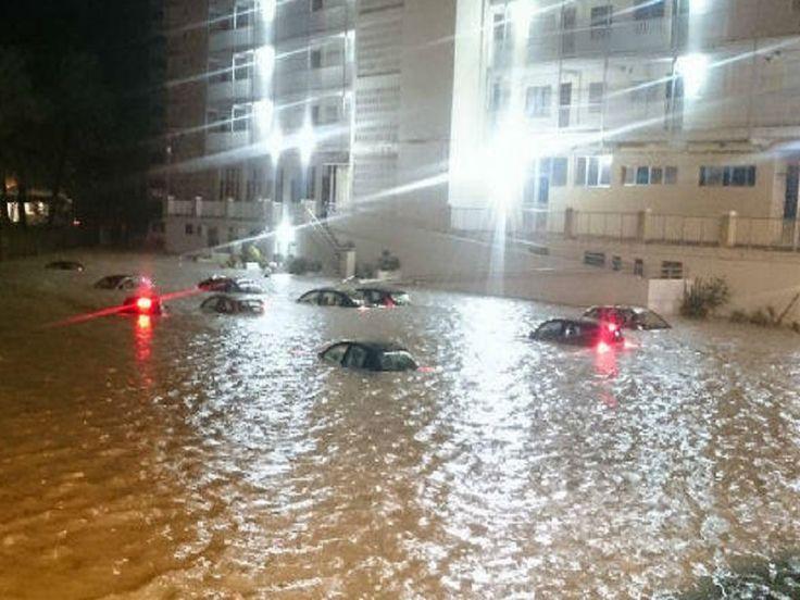 Chuva de 150 mm, o maior volume para março desde 1934, causa danos em Alicante, Espanha
