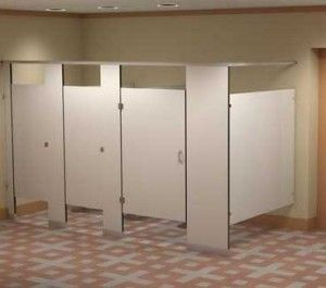 74 best images about restroom partitions on pinterest - Commercial bathroom stall hardware ...