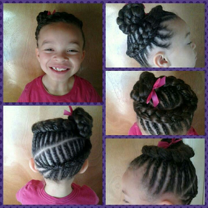 Remarkable Little Girl Hairstyles Hairstyles And Love On Pinterest Hairstyles For Women Draintrainus