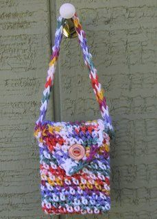 This is a crayon purse...so cute for a little girl's special crayons!