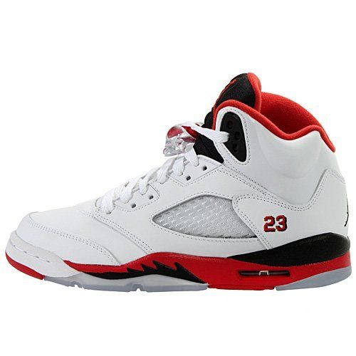 Air Jordan Shoes For Kids Youth (BOYS) Nike Air Jordan 5 Retro (GS) Basketball Shoes                                 synthetic-and-mesh                    rubber sole                    Translucent Sole                    Easy Lock Lacing system                    Clear Mesh Grid                    Visible Air in Heal