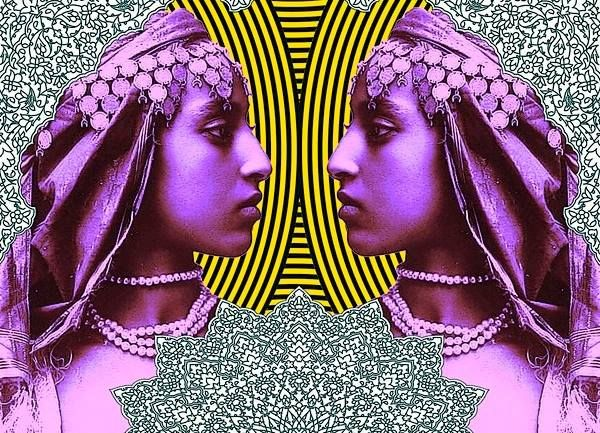 *Neon* Pop Maroc- graphic art by Laura Li